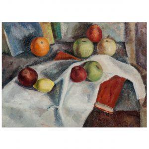 William Baziotes (American, 1912-1963) Pair of Modernist Still Life