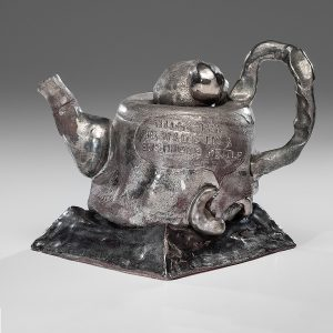 Robert Arneson (1930-1992; USA) Billy Tea is Made in a Bushman's Kettle from the Collection of Allan Stone