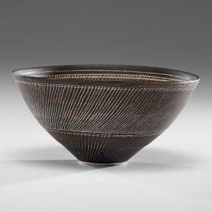 Lucie Rie (1902-1995; Austria/England) Sgraffito Bowl